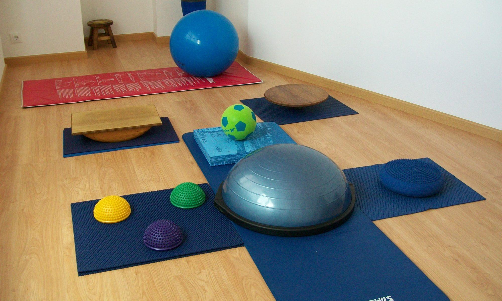 Sala de recuperación funcional y pilates
